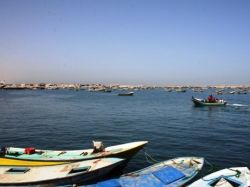 Gaza Fishing Port